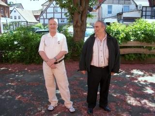 die strahlenden Sieger, Dennes Abel und Alexander Kabatianski