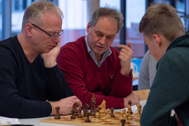 Thomas, Heinz-Dieter, Rainer und Arne